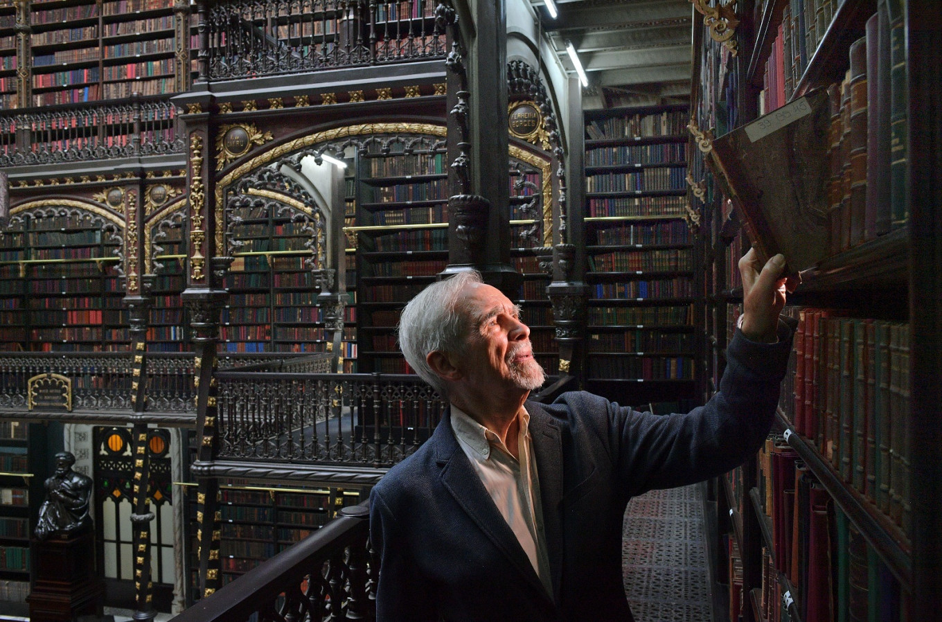 Historic library weaves 'Harry Potter'-style tourist magic in Rio