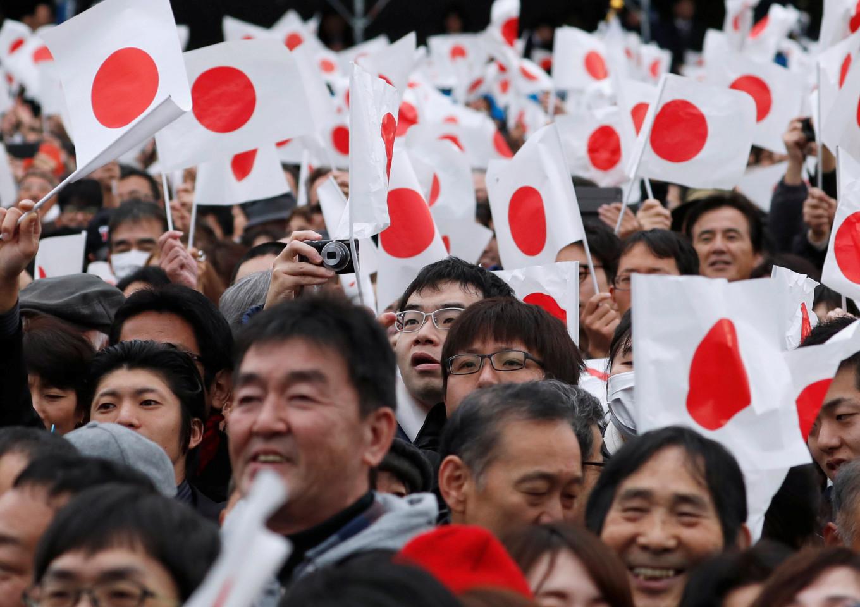 Japan emperor draws record birthday crowd before abdication next year