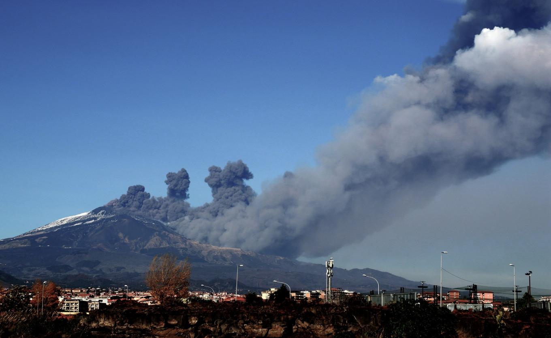 Mount Etna Eruption Causes Airspace Closure