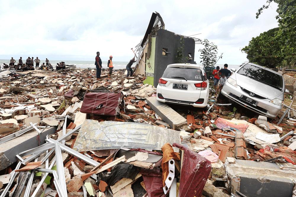PLN starts fixing infrastructure following Banten tsunami