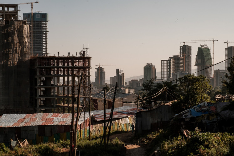 In Ethiopia, as a capital rises, history rots - Art