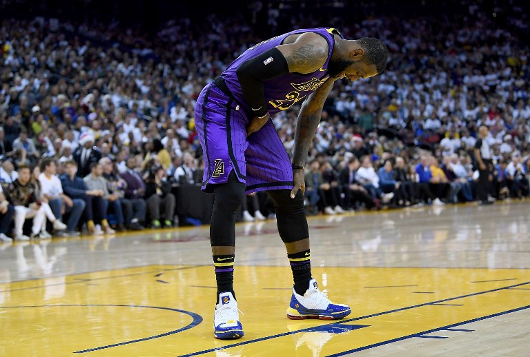 James progressing from injury, faces update next week: Lakers