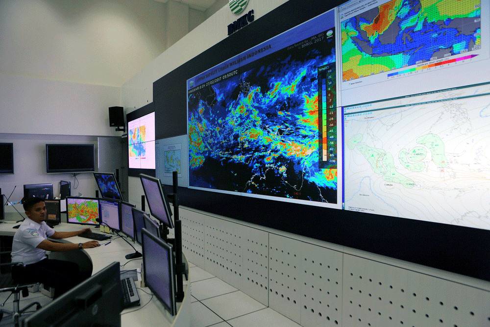 BMKG warns of intense rainstorms across Greater Jakarta in coming days