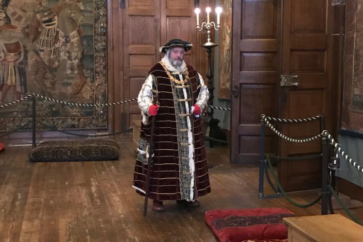 Henry VIII reenactor
