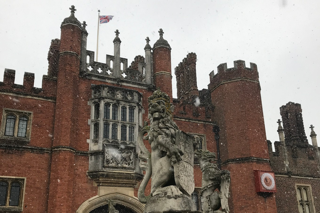 Retracing England's regal past in Hampton Court