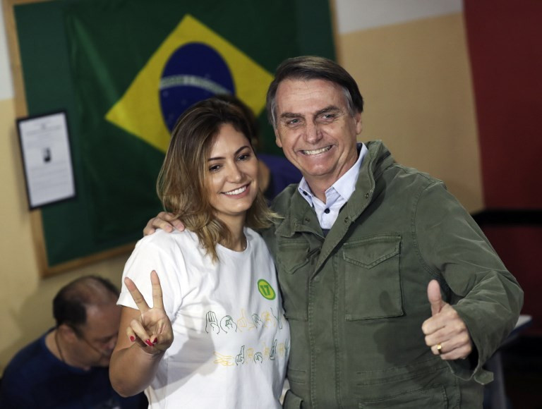 Brazil's new far-right leader sees guns as answer to crime