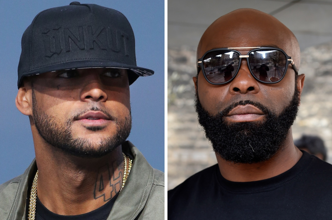 'I will drink your blood': French rappers take feud to ring