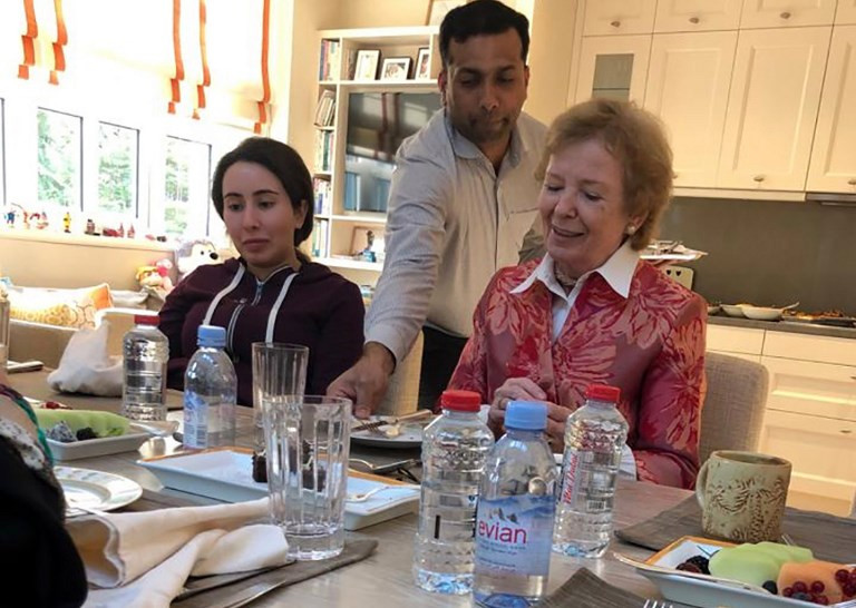 Mary Robinson Has Given An Interview Following Her Meeting With Sheikha Latifa