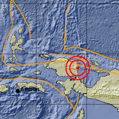 6.1-magnitude earthquake hits West Papua
