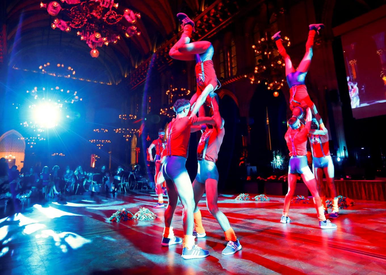 Vienna's male cheerleaders seek to redefine masculinity