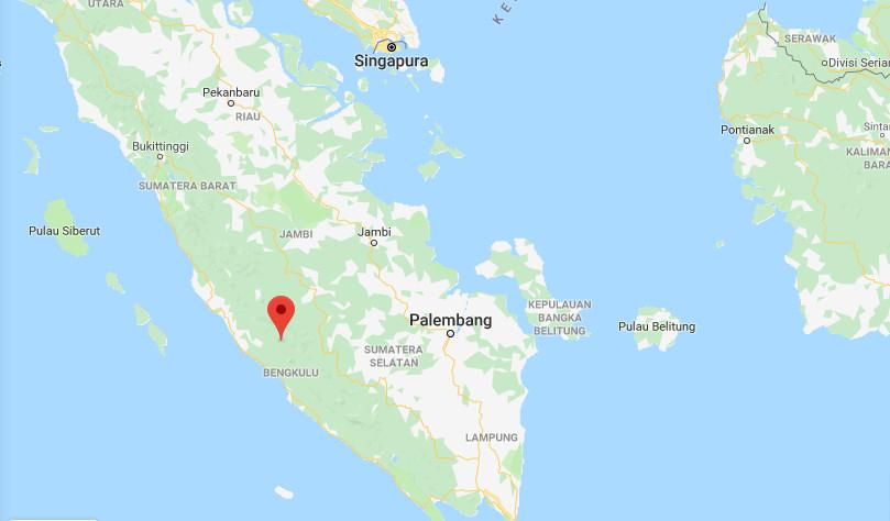 5.8-magnitude quake hits Bengkulu