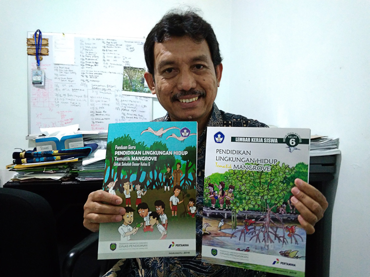 Environmental education supports mangrove conservation in Indramayu