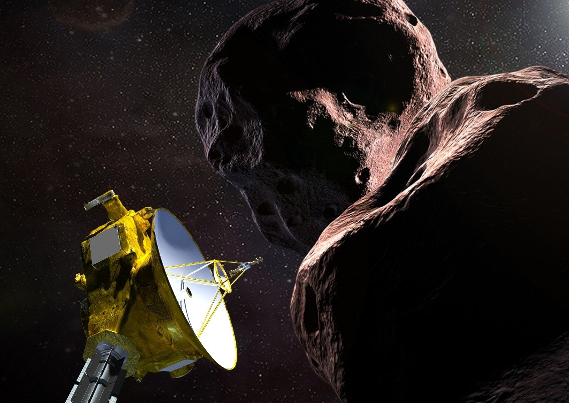 NASA speeds toward historic flyby of faraway world, Ultima Thule