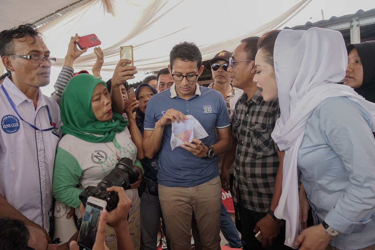 I visited 970 places on campaign trail: Sandiaga