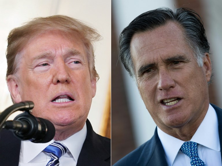 Romney launches blistering attack on Trump's character