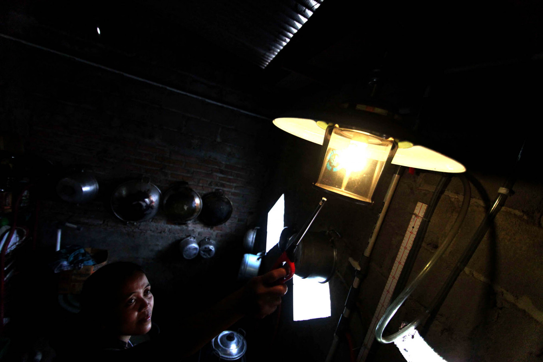 Biogas can be used for lighting. JP/Maksum Nur Fauzan