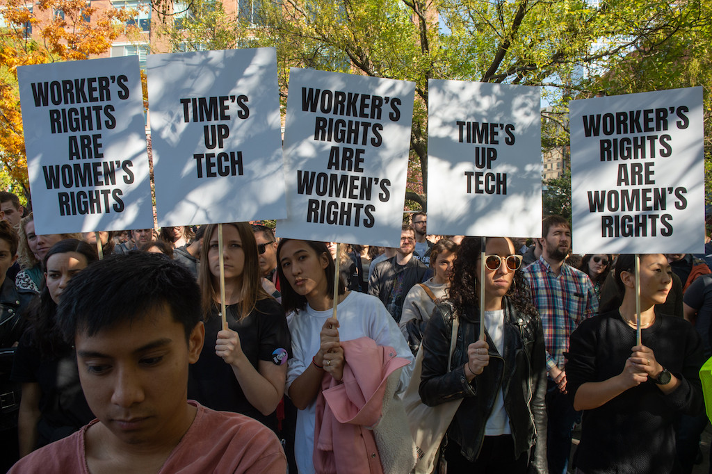 One year on, Time's Up movement has taken shape, but more to do