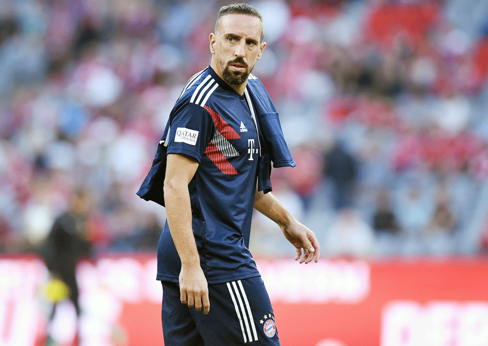 Ribery suffers double blow with injury and burglary