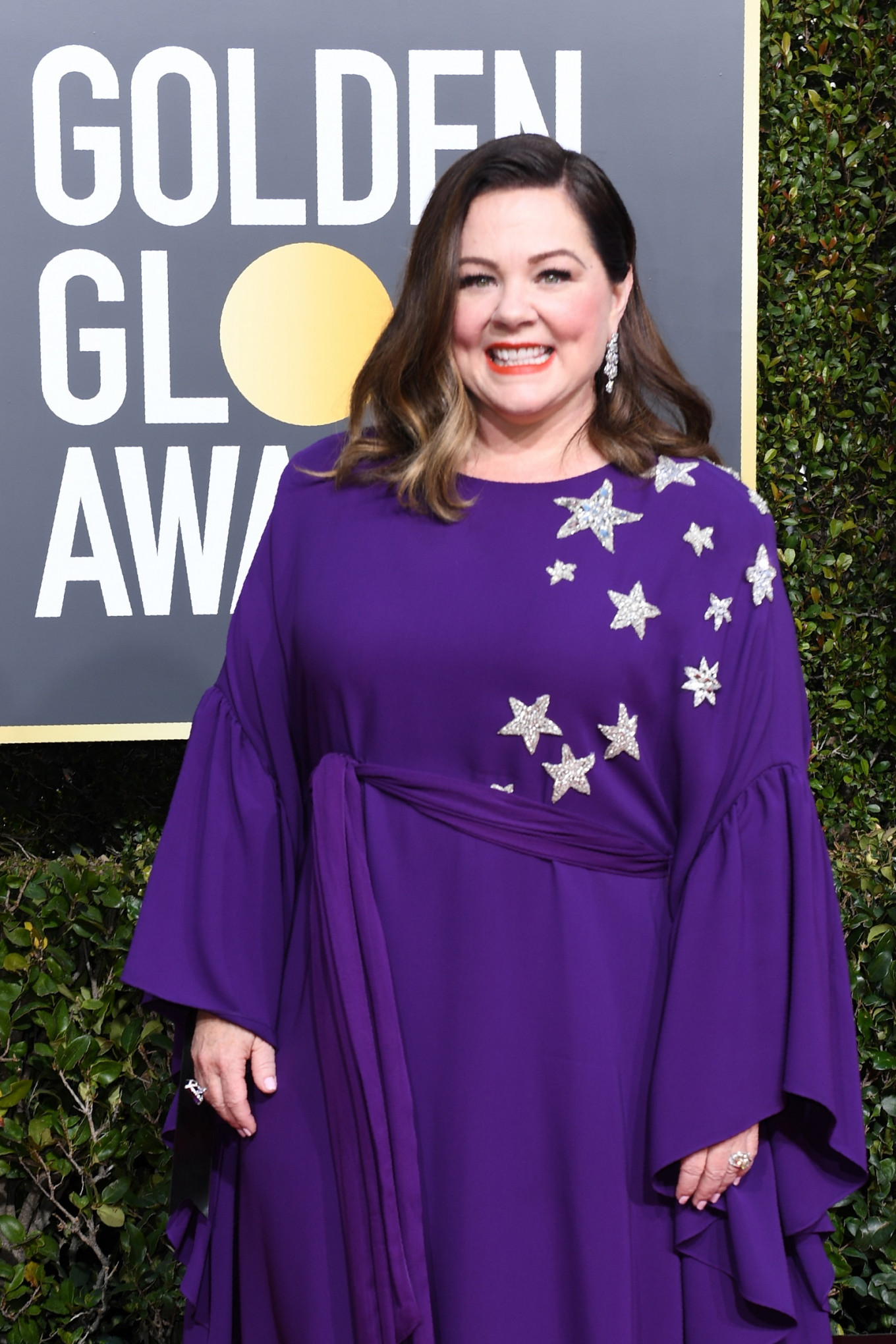 Best Actress in a Motion Picture – Drama for 'Can You Ever Forgive Me?' nominee Melissa McCarthy arrives for the 76th annual Golden Globe Awards on Jan. 6, 2019, at the Beverly Hilton hotel in Beverly Hills, California.