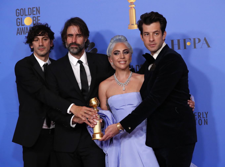 Lady Gaga, 'Roma' shine at nice over nasty Golden Globes
