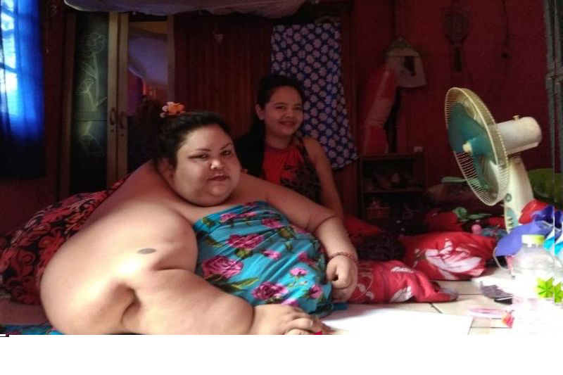 Overweight Central Kalimantan woman asks for government help