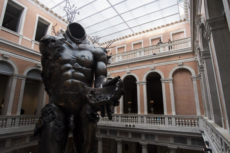 Colossal work from Damien Hirst Venice show headed to Vegas