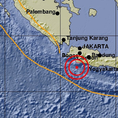 5.4-magnitude earthquake jolts West Java