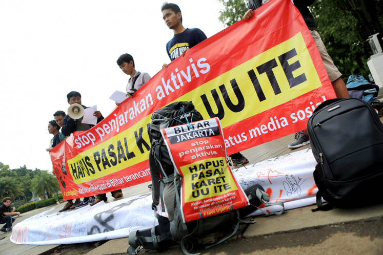 Ball in Jokowi's court on ITE Law revisions