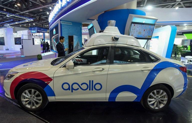 Baidu launches autonomous driving platform that can park cars itself