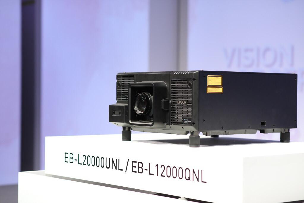 Epson launches two new 4K 3LCD laser projectors