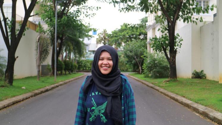 Rizka Raisah Fatimah Ramli from Makassar, South Sulawesi.