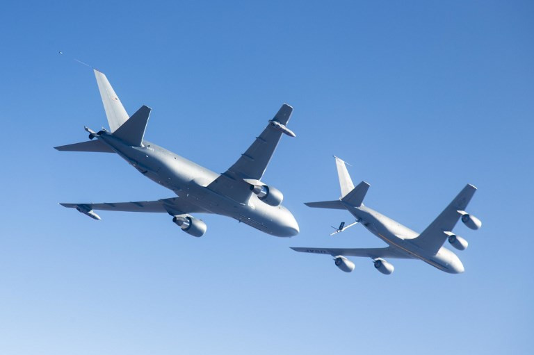 US Air Force ready for delivery of first KC-46 tankers