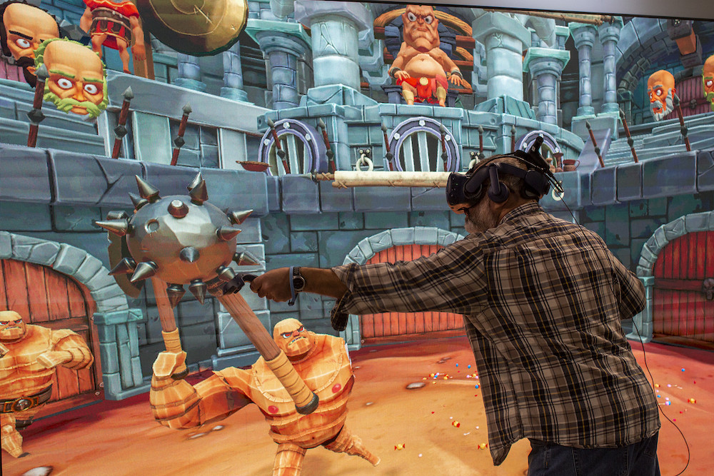 Virtual reality makes splash, but not ready for prime time