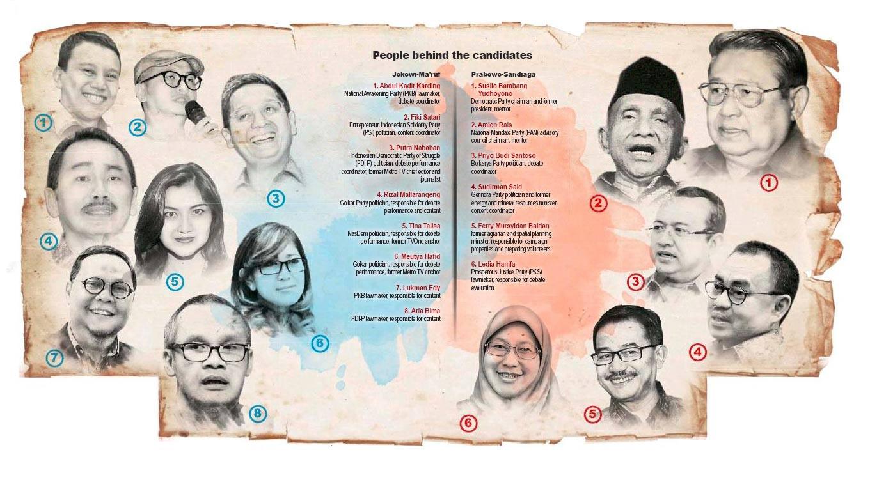 Rival camps prepare candidates