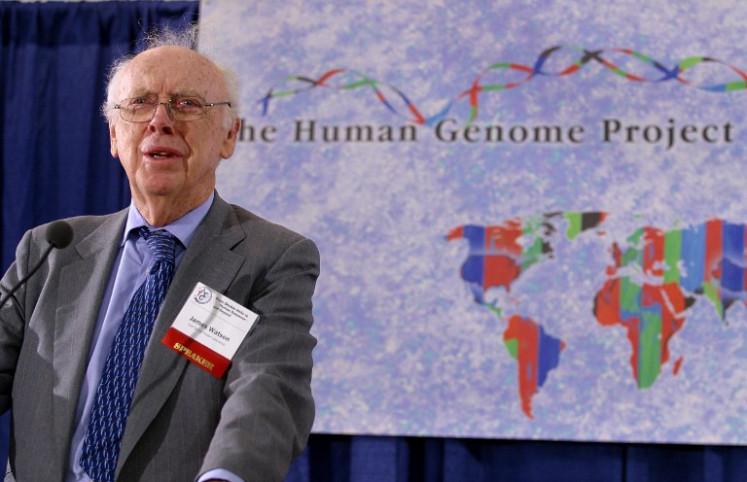 Nobel Prize-winning DNA scientist James Watson disgraced following racist remarks