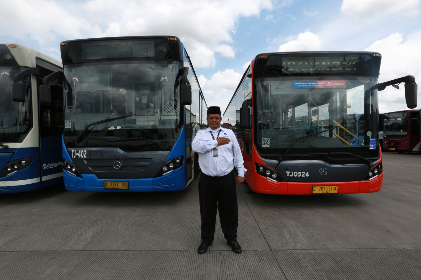 Achievement unlocked: Transjakarta breaks record for serving one million customers in a day