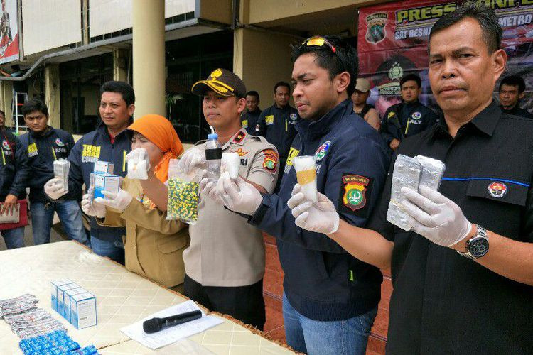 West Jakarta school lab used to store illegal drugs