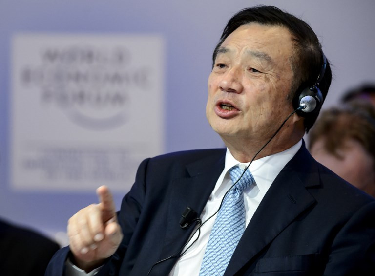 Huawei CEO denies the company spies for China - and praises Trump
