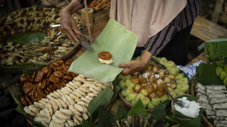 Sweet treats at plastic-free market