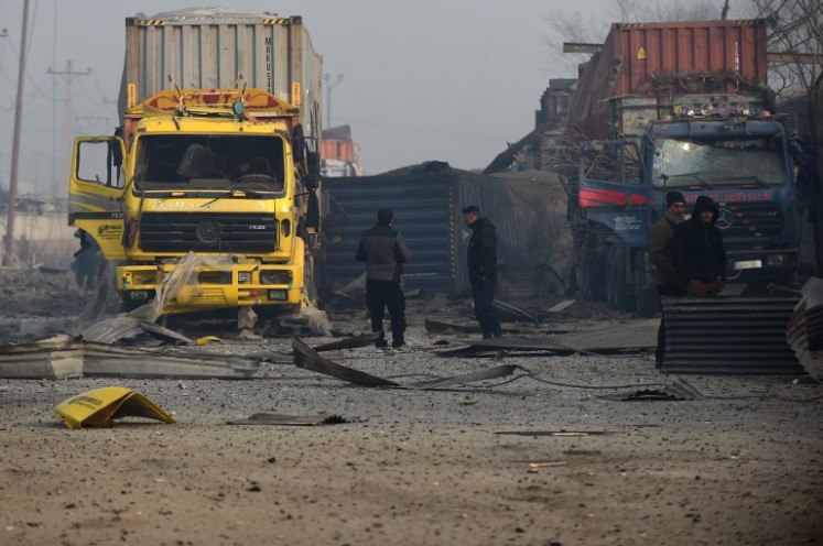 US citizen among dead in Kabul truck bomb attack