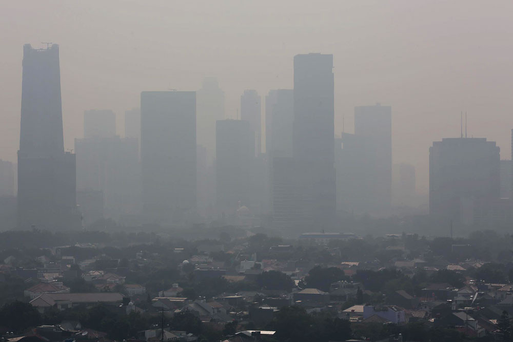 Jakarta's enemy is air pollution