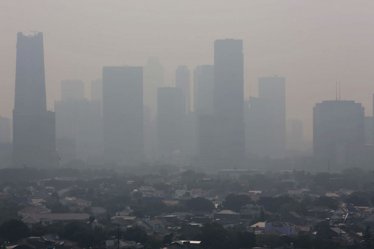 Check Jakarta S Air Quality With These Mobile Apps Science Tech The Jakarta Post