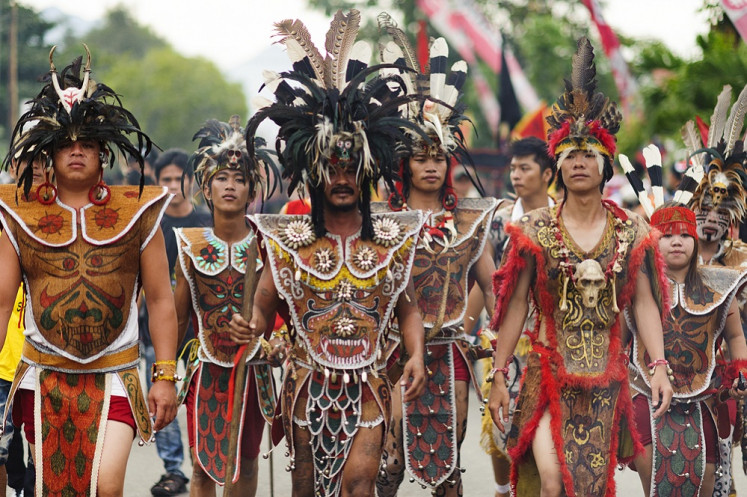 From forests to fashion: Handep to host Dayak cultural event in Bali