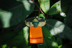 Each guest was required to wear a badge provided by the Pakualaman principality at the Dhaup Ageng. JP/Anggertimur Lanang Tinarbuko