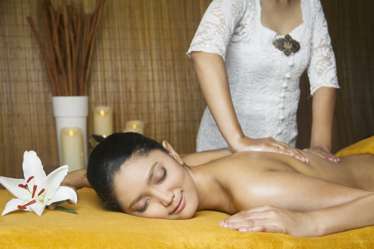 A massage to improve blood circulation and relax the muscles.