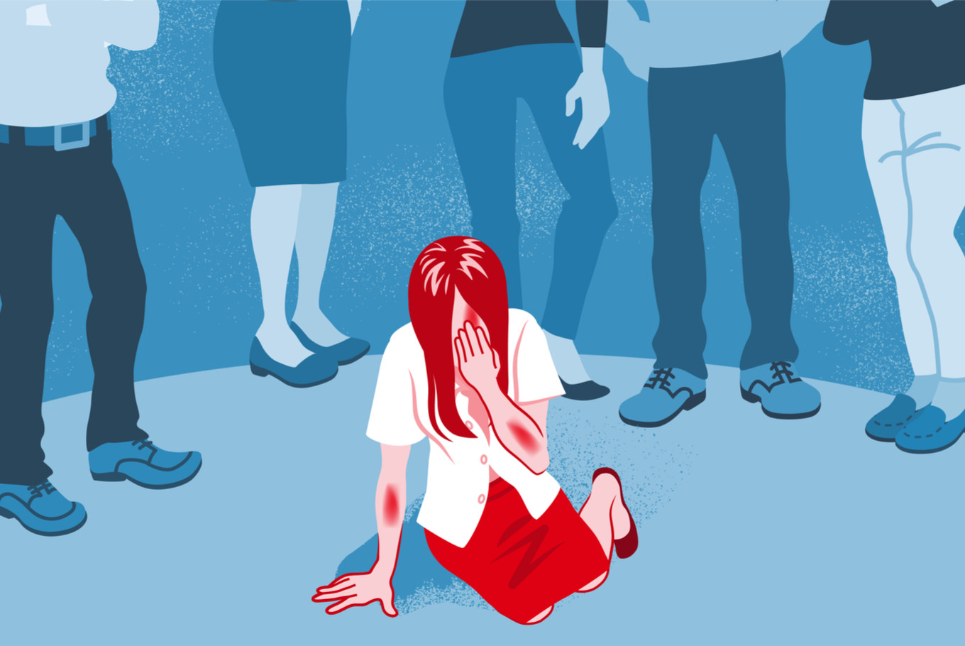 Victim blaming obvious no-no. What about victim protection? - Opinion - The  Jakarta Post