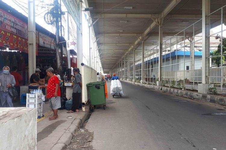 Pedestrian ban on Jl. Jati Baru Raya begins Feb. 7