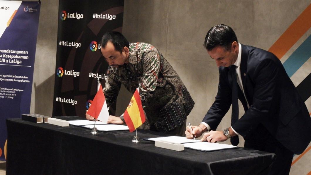 Indonesian league learns from Spain's La Liga