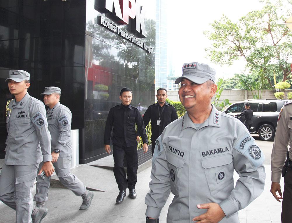 KPK freezes company's bank account in Bakamla graft case
