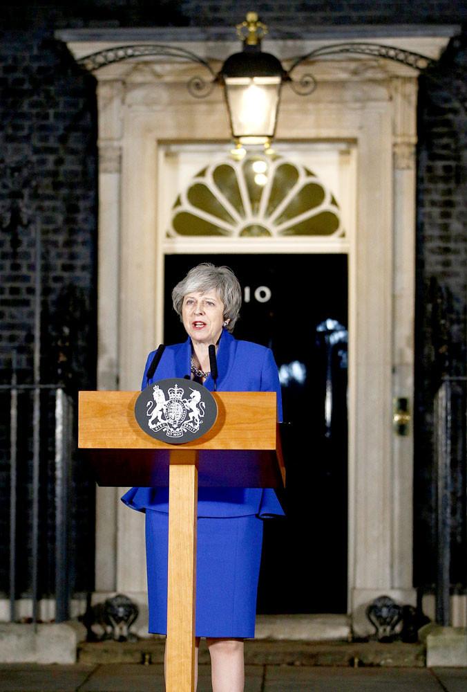 British PM turns to Brexit 'Plan B'